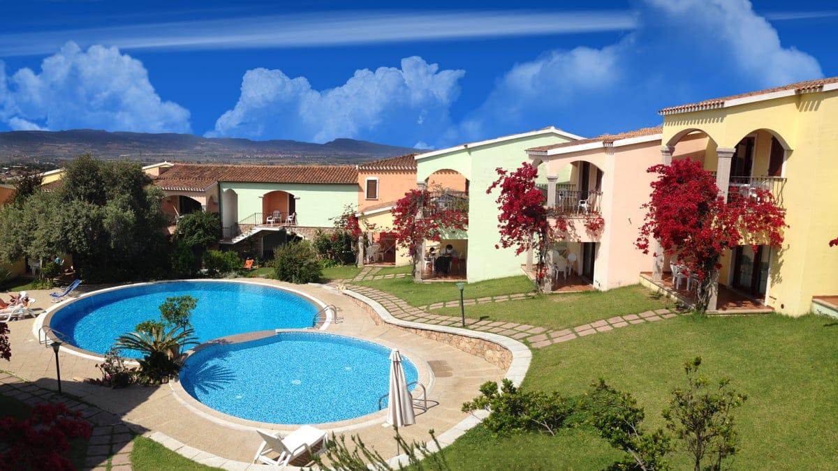 Badus Residence con piscina vacanze con bambini Sardegna